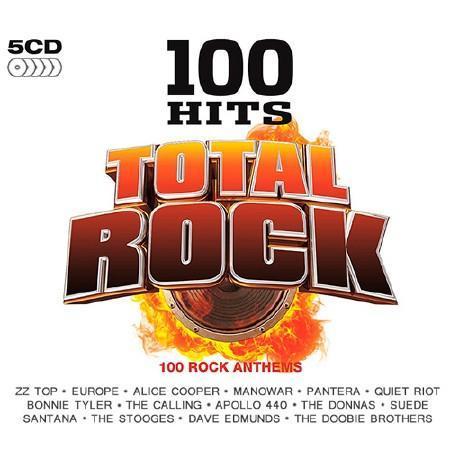 VA - 100 Hits Total Rock (5CD) [Compilation] (2016)